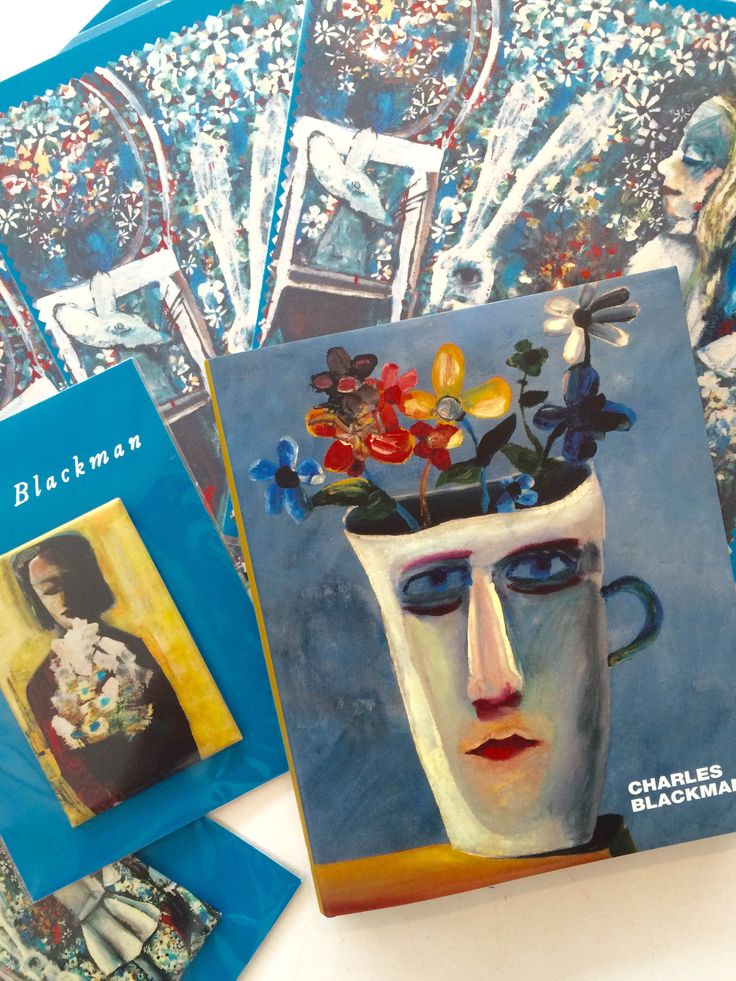 Charles Blackman in Queensland // ft. lens cloth cleaner, magnet and book
