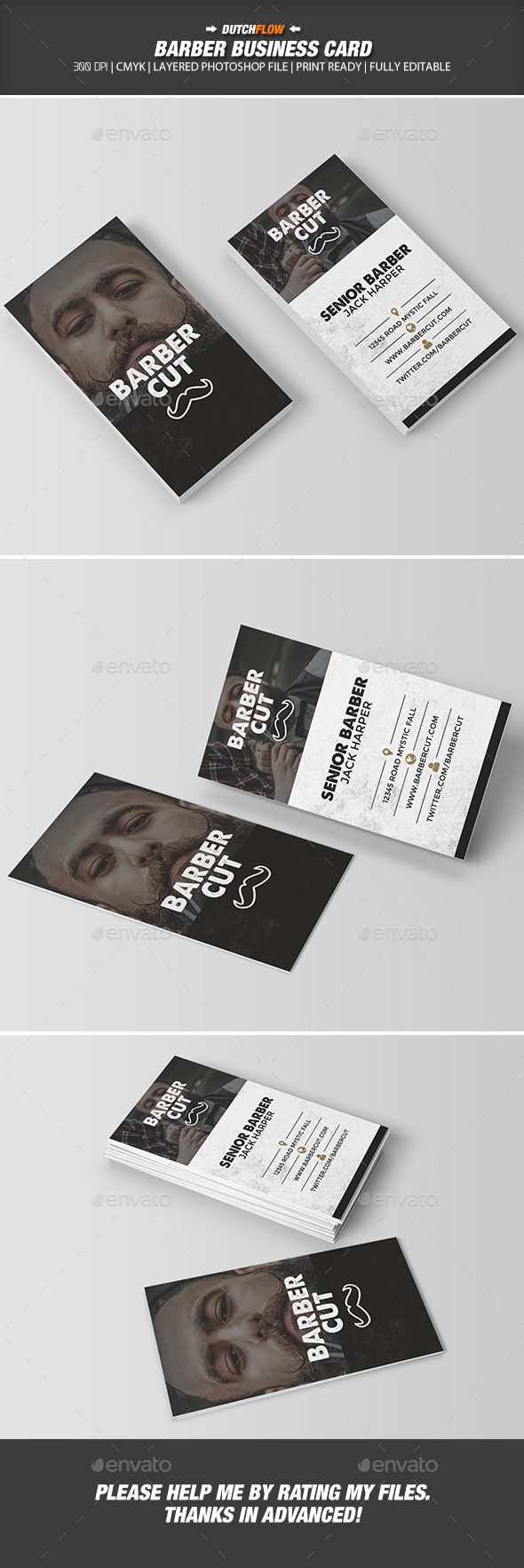 Best 25 barber business cards ideas on pinterest hair salons barber business card magicingreecefo Choice Image