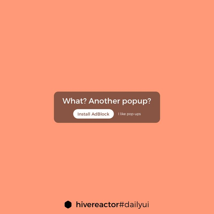 #DailyUI #016. Do you like popups? #design #ui