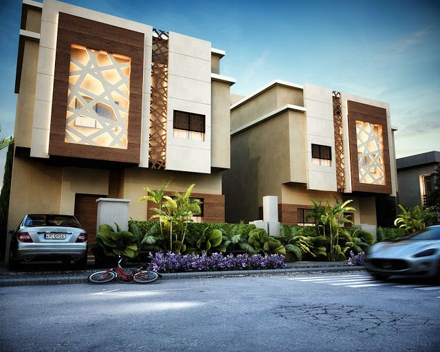 Front Elevation Of Small Hotels : Best images about islamic house on pinterest dubai