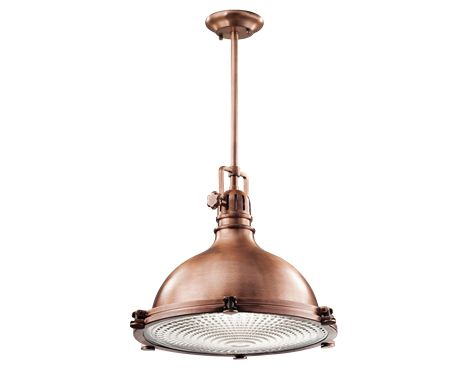 1 Light Pendant - Hatteras Bay Collection - Kichler Lighting - pendant, ceiling, landscape light fixtures  more