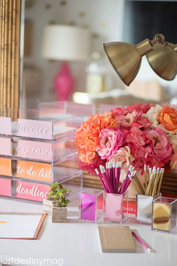 This post is brought to you by The Container Store. If you're at all familiar with my office then you know it was all inspired by a little notebook with gold dots, that turned into a wall of gold confetti, which turned into a dresser which turned into a room full of gold, corals and …
