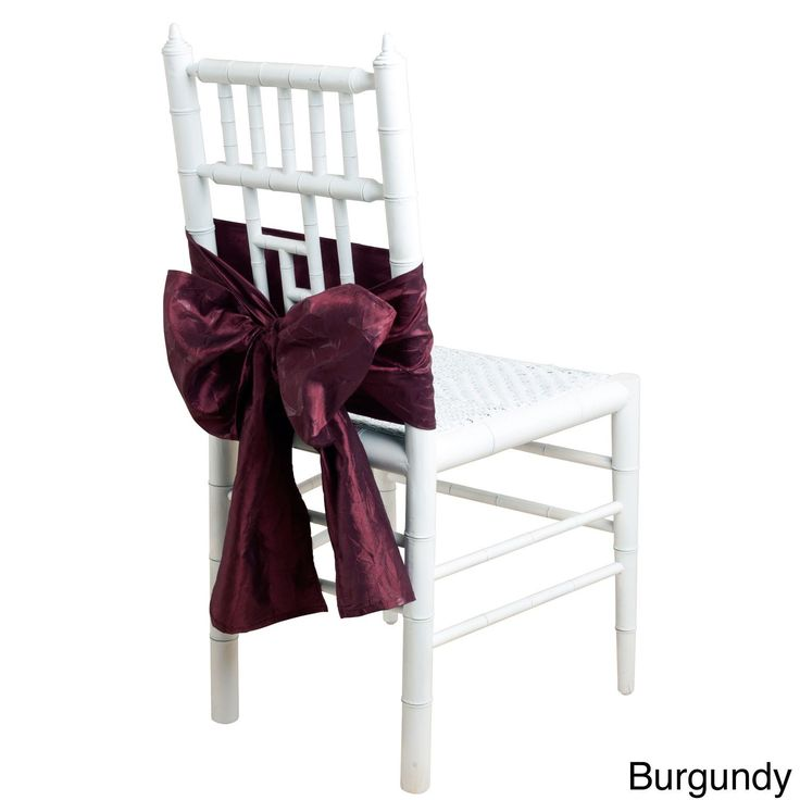 Saro Crushed Chair Tie