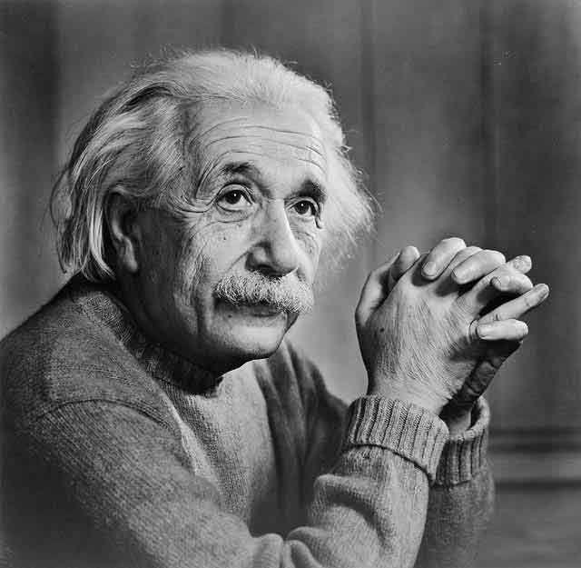 Albert Einstein a bouleversé la conception de l'espace et du temps. © DP