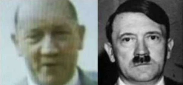 DNA ON FRAGMENTS FROM THE BUNKER PROVE THE BODIES BURNT WEREN'T HITLER & EVA. REPORTS THEY ESCAPED TO ARGENTINA :  Details Hitler Fled To Argentina Are On FBI's Website | NEON NETTLE - Music, Entertainment and Alternative News.