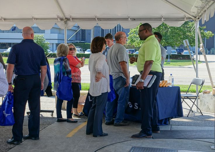 """On August 16-18, #Comau LLC hosted their annual Summer Fun BBQ at all three of their #Michigan locations in anticipation of the #WoodwardDreamCruise taking place on Saturday, August 20. At the event, employees had the opportunity to participate in an auto show to display their classic and modern #cars, and compete to gain the overall title of """"Best in Show"""". All employees enjoyed a catered lunch, visited with Comau vendors, and partook in the raffle to win various door prizes."""