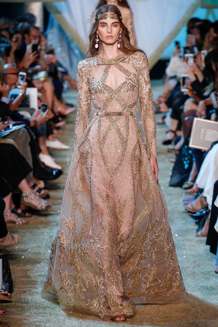 Elie Saab Fall 2017 Couture Fashion Show - Estella Brons