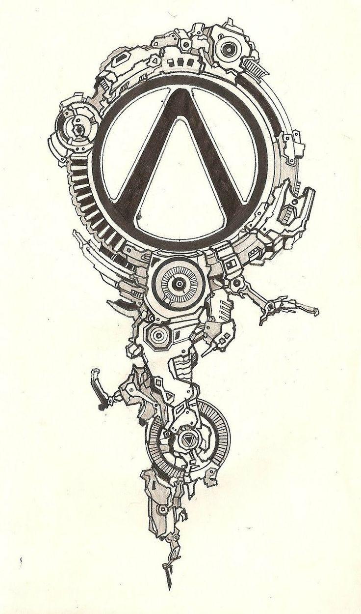 Borderlands tattoo :3