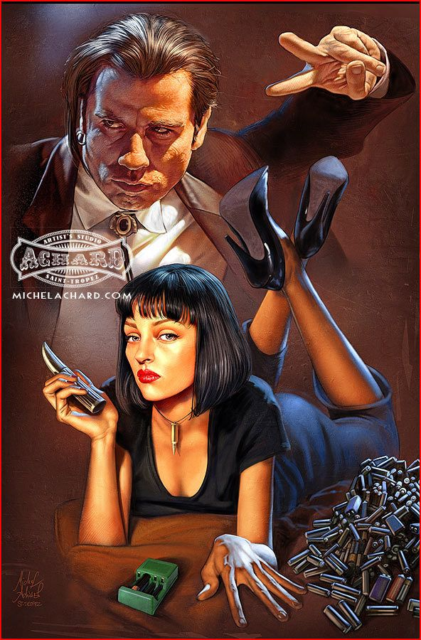 Pulp Fiction tribute by Michel Achard