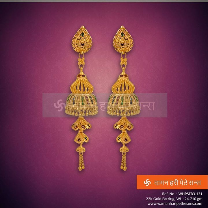 #Adorable #gorgeous #stunning #beautiful #gold #earring from our exclusive collection.