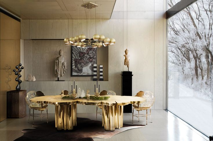 dining room design by Boca do Lobo