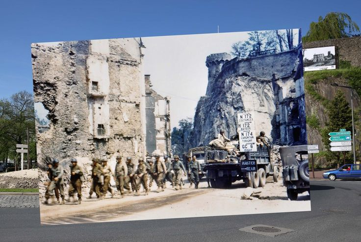 El pasado y el presente, unidos en los escenarios del desembarco (FOTOS)   Huffington Post