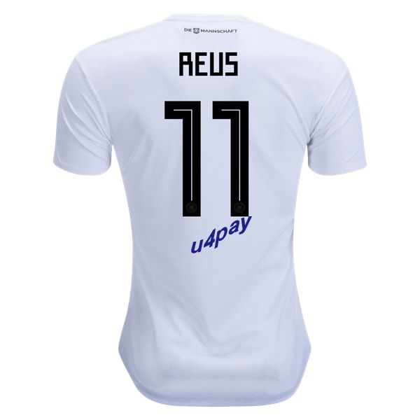 buy cheap 126b9 c0fce Marco Reus 11 2018 FIFA World Cup Germany Home Soccer Jersey ...