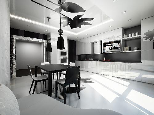 Коттедж в стиле минимализм | Портфолио AcademyDesign