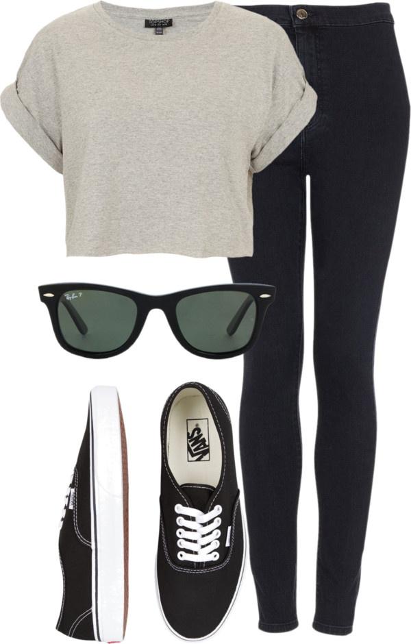 xx camisa gris, negro