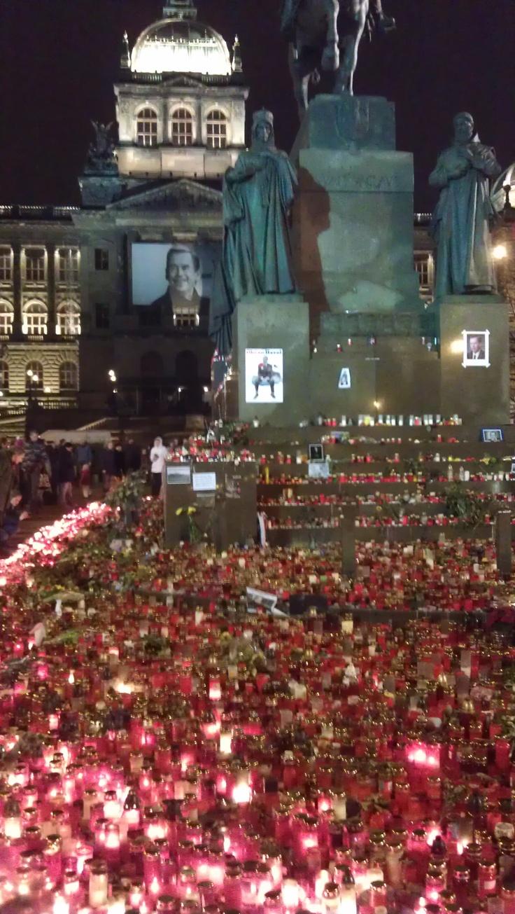 Death of Vaclav Havel, Czechoslovak and Czech president, Dec 2011