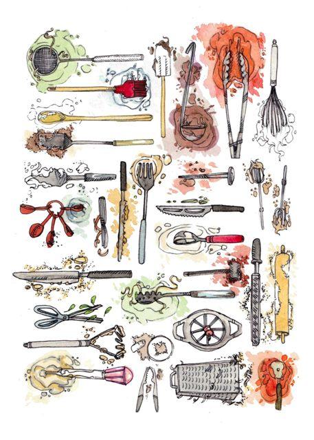 Lucy Engelman....dirty kitchen tools tattoo...mmmmmm