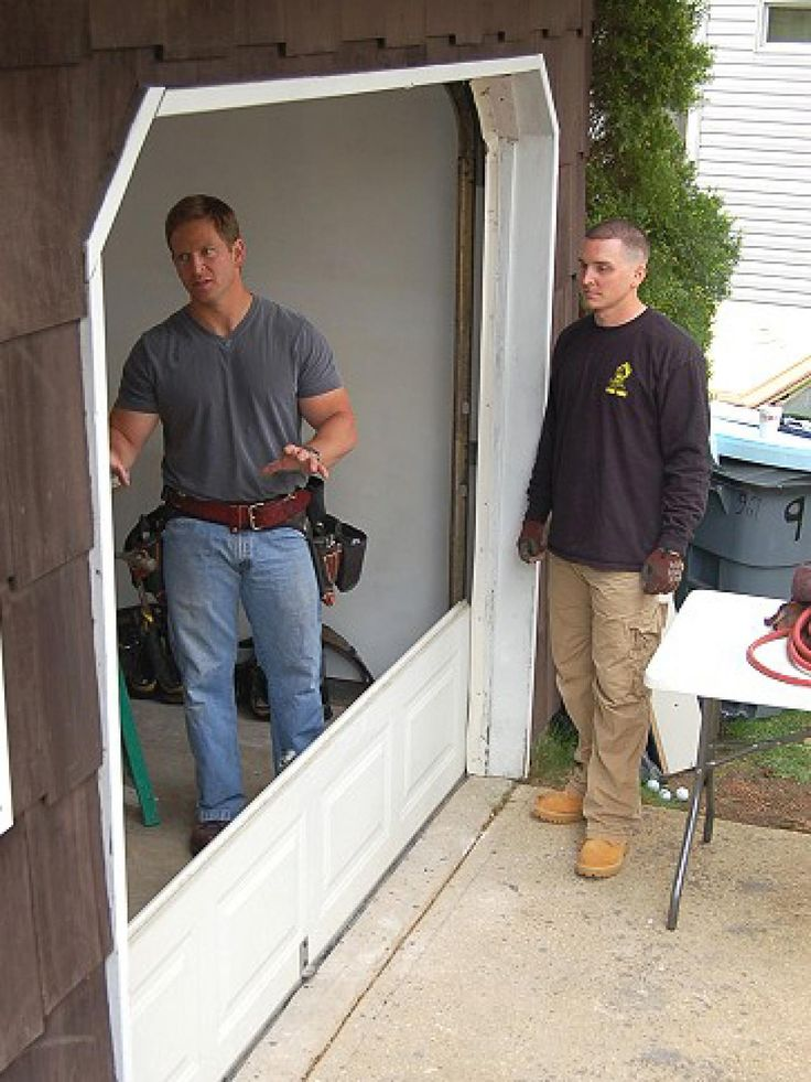 17 best ideas about garage steps on pinterest garage - Garage door installation instructions ...