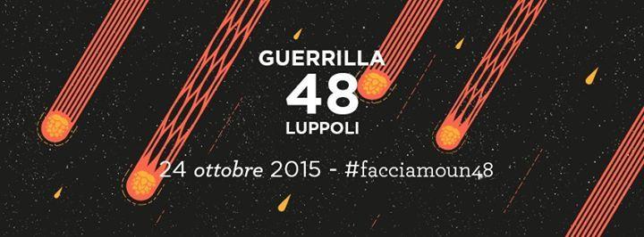 #FacciamoUn48  Presentazione Guerrilla 48 Luppoli http://www.facciadamalto.it/evento/facciamoun48-guerrilla-48-luppoli/ #Birra #IPA
