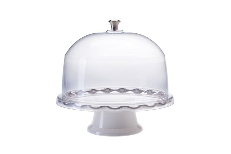 Acrylic cake dome plastic tray and pedestal 11