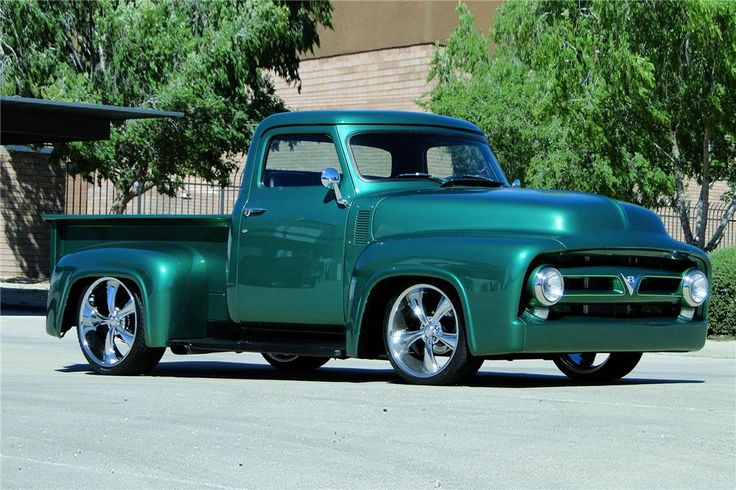 1953 FORD CUSTOM PICKUP - Barrett-Jackson Auction Company - World's Greatest Collector Car Auctions