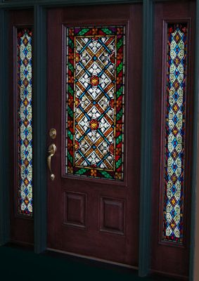 17 Best Images About Stained Glass Transoms Doors And