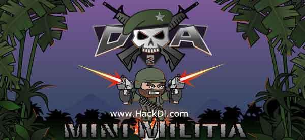 Doodle Army 2 Mini Militia Hack 4 2 2 Mod Unlimited Ammo Apk