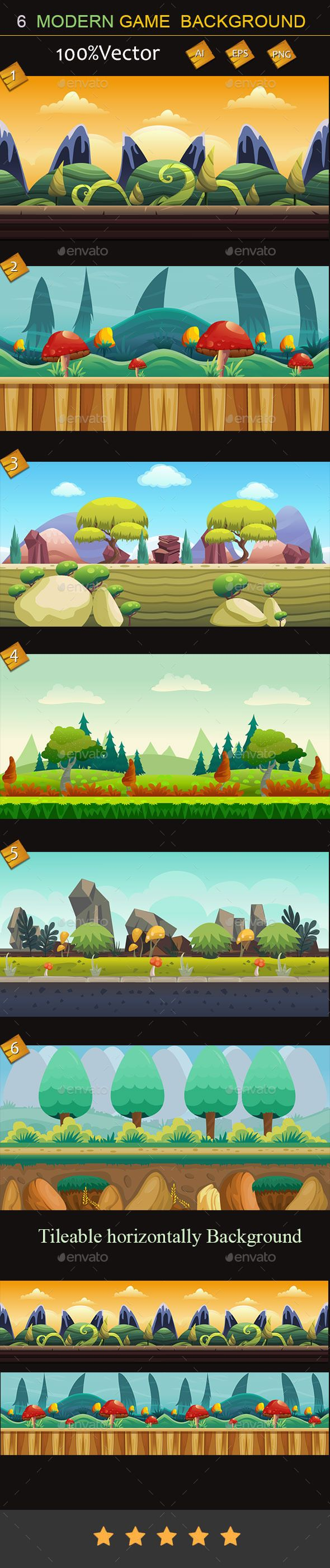 6 Modern Game Background Download here: https://graphicriver.net/item/6-modern-game-background/10065873?ref=KlitVogli