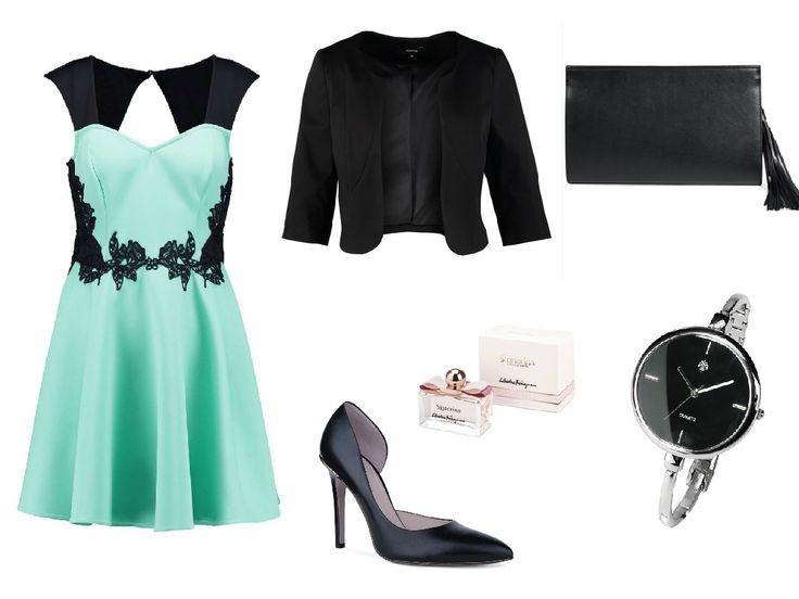 Miętowe sukienki łączą w sobie elegancję, kobiecość i wdzięk.   Kliknij w obrazek po więcej stylizacji z miętową sukienką.  Czy miętowe sukienki nadal są modne?