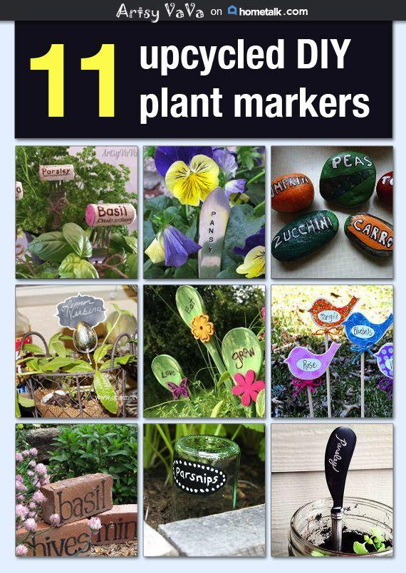 Best 25 Garden Plant Markers Ideas On Pinterest Fork
