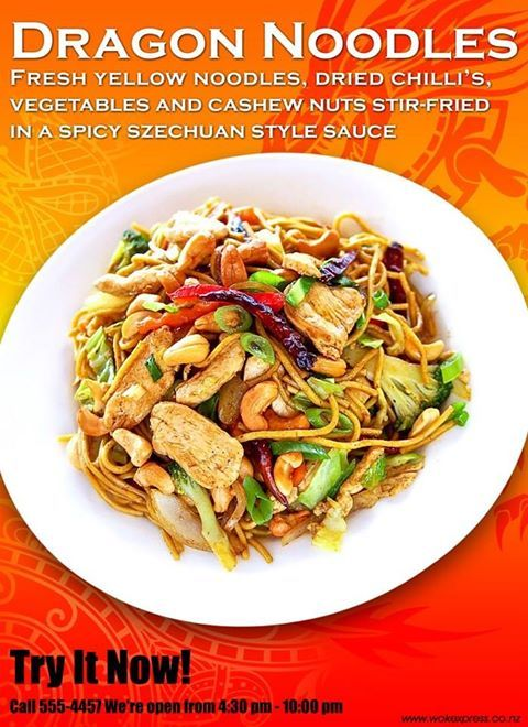 Warm up your rainy day with healthy and spicy Dragon Noodles at Work Express.