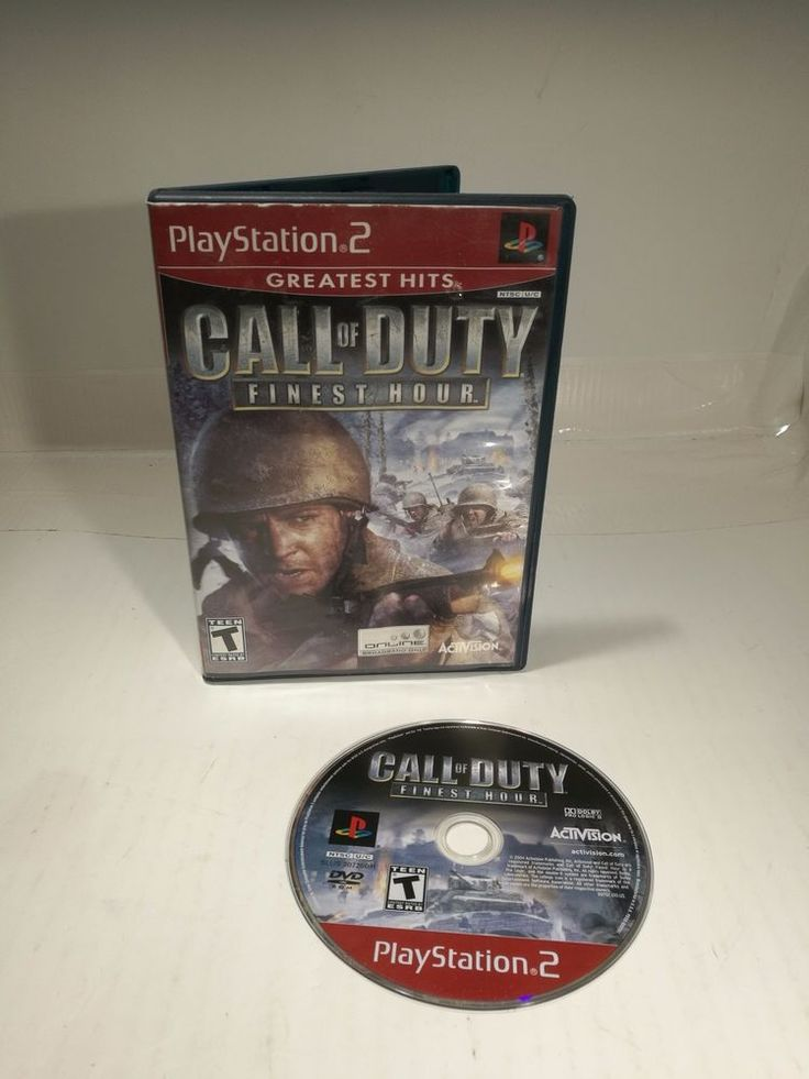 PS2 Call of Duty: Finest Hour Sony PlayStation 2 Greatest hits