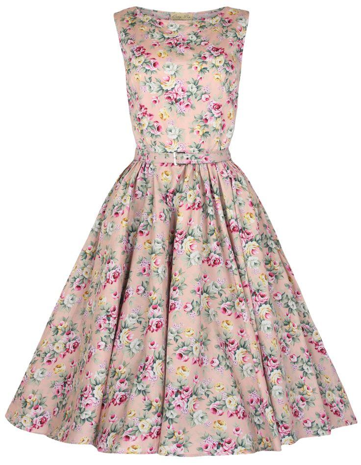#Lindybop 'Audrey Peach Floral www.lindybop.co.uk