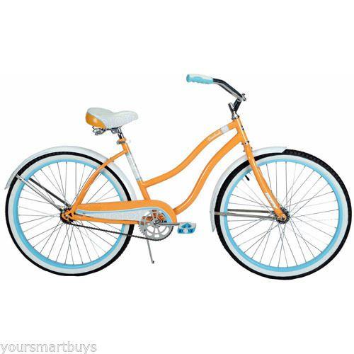 Ladies+Road+Bike+Womens+Bicycle+Cycling+26+Cruiser+Beach+Women+Shorts+Jersey+NEW+#Huffy