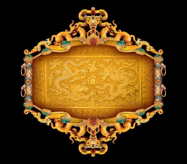 إطارات الذهب العتيقة زخرفة الخلفية Antique Gold Decorations Gold Decor Antique Gold