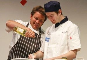 Celebrity chef demos and culinary delights for International Hotel School students