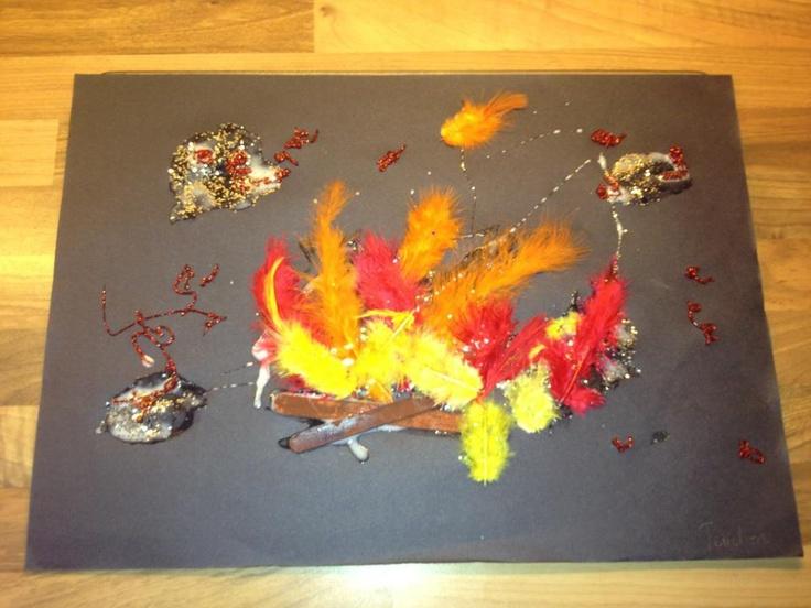 Bonfire Collages | Oakley Childcare