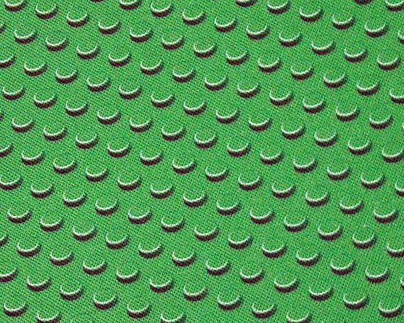 Green brick field fabric quarter  lego inspired FQ by spacefem, $8.00