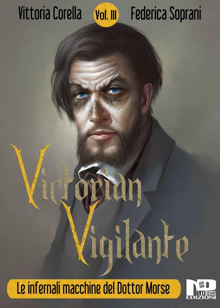 Cover del terzo episodio di Victorian Vigilante