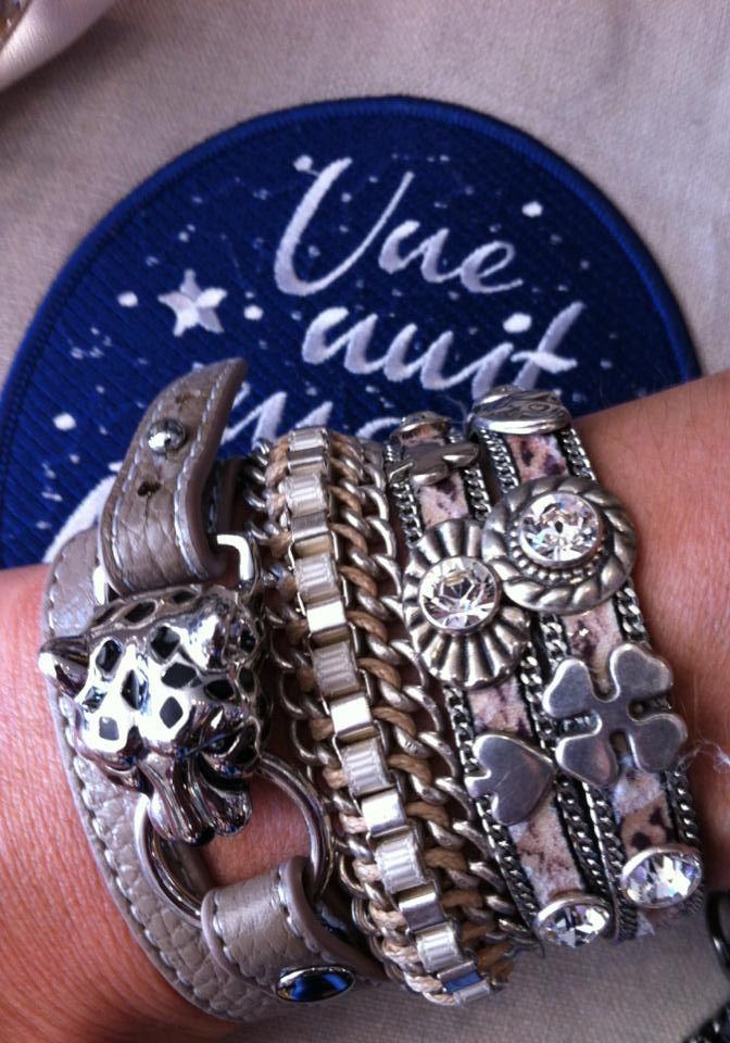 Bracelets taupe