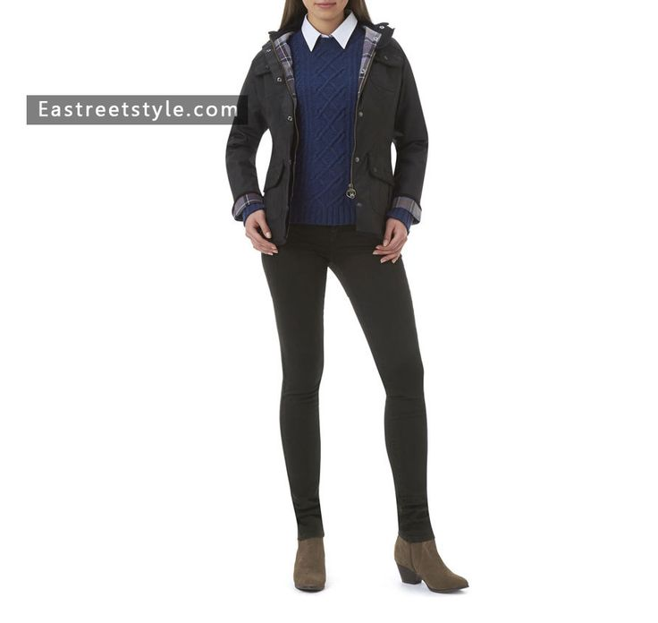 Women Barbour Ladies Utility Waxed Jacket at www.eastreetstyle.com