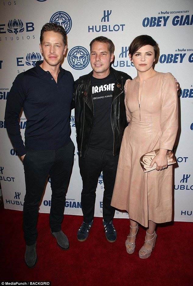 Ginnifer Goodwin On The Red Carpet With Husband Josh Dallas In La Josh Dallas And Ginnifer Goodwin Josh Dallas Documentaries