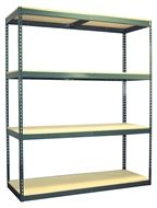 Rivet System Series 1 Boltless Shelving unit. Our most popular shelving unit! Single units start at just $50.13. Order today! 1-800-966-3999 actionwp.com