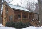 This is Shady Maple Cabin at Tranquil Acres Cabins in Millersburg, OH where we spent our 25th Anniversary Getaway.  Very romantic and beautiful getaway.  Highly recommend!