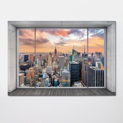 Poster Intisse Goodhome New York 248 X 368 Cm En 2020 Parement Mural New York Et Poster Xxl