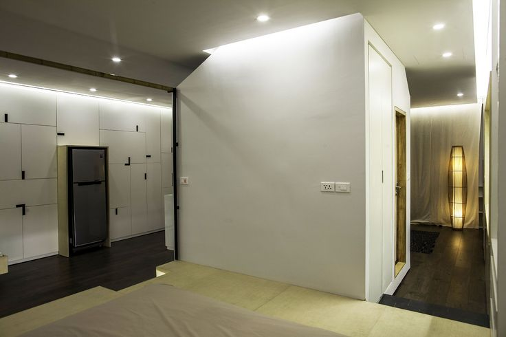 Apartment Renovation under Hanoi Interior Design Among Modular Furniture Ideas Design Used Modern Decoration as Home Inspiration
