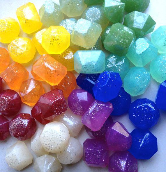 Soap jewels!