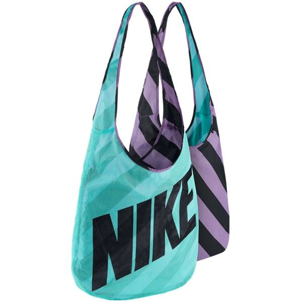 Nike Graphic Reversible Tote 38 Liked On Polyvore Featuring Bags Handbags