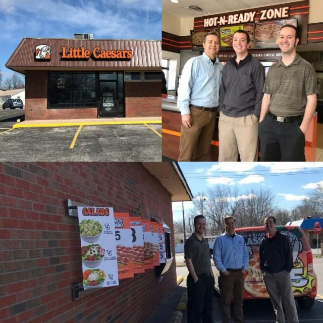 WOOD RIVER - Little Caesar's Pizza is up and rolling at a new location at 305 E. Edwardsville Road in Wood River by the Casey's.The Little Caesar's in Wood River moved from 12 W. Edwardsville Road. General Manager Justin Beck said he couldn't be more pleased with the opening so far.Doyle Beck, Justin's father, has Little Caesar's locations in Wood River, Godfrey, Florissant, Mo., and Ferguson, Mo. Jeremiah Beck, another son, also works in the business.The Beck family has renovated structures…