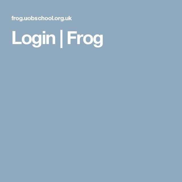 Login | Frog